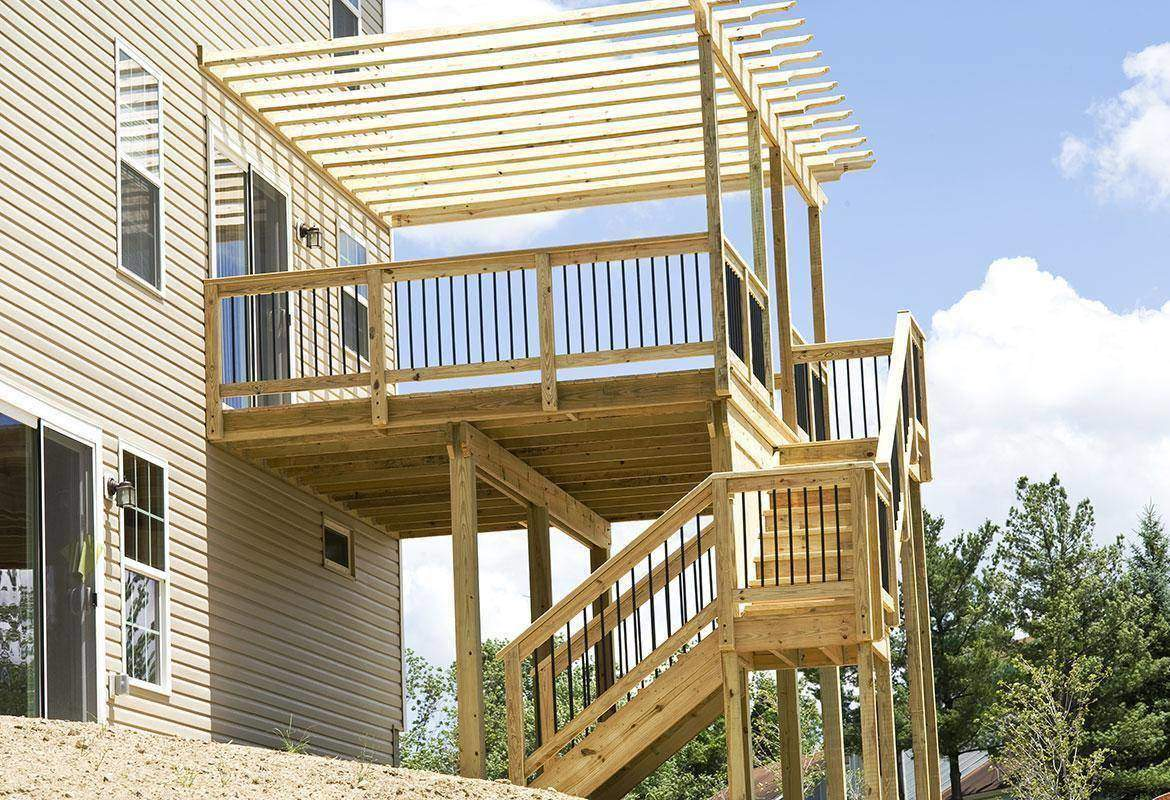 Deck Addition Will Add Value To Your Home